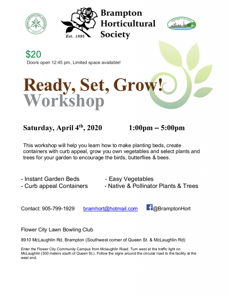 Ready Set Grow Poster